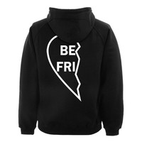 best friends hoodie BACK