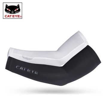 CATEYE Professional Cycling Arm Sleeve MTB Road Bicycle Arm Warmer Running Fitness Gym Armsleeve Arm Stockings Sport Safety Wear