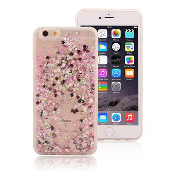 Liquid Glitter Cases for iPhone Models phone