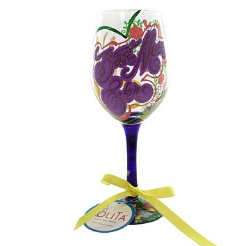 Tabletop BEST MOM EVER Glass Lolita Wine Glass 5533K