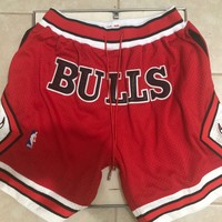 NBA Chicago Bulls Just Don Shorts - Best Deal Online