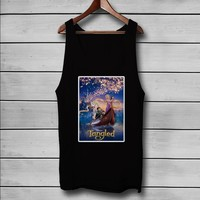 Disney Tangled Custom Tank Top T-Shirt Men and Woman