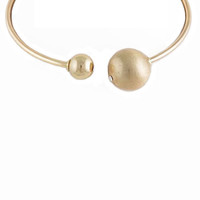 Open Orb Necklace - Gold (As seen in People Style Watch Magazine)