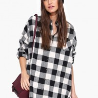 Carolina Oversized Plaid Shirt