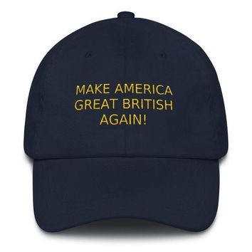 Make America Great British Hat.