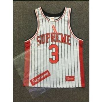 Supreme throwback nba jersey crossover shirt