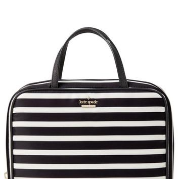 kate spade new york classic minna nylon travel cosmetics case | Nordstrom