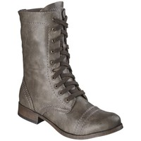 Women's Mossimo Supply Co. Khalea Trooper Boot - Stone
