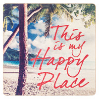 This Is My Happy Place Wooden Magnet | Hobby Lobby