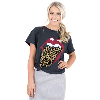 Women's Rolling Stones Tongue Tour Top