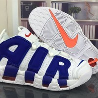 Nike Air More Uptempo 96 Scottie Pippen Knicks Basketball Shoes Size Us5.5 13 | Best Deal Online
