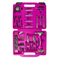 Cala Pink 139-Piece Tool Set with Case - Tools - Tool Sets - Home Owner Tool Sets