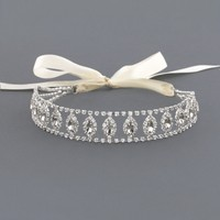 Anastasia Halo Crystal Bridal Headband | Bridal and Wedding, Hair Accessories | AMY O. Jewelry