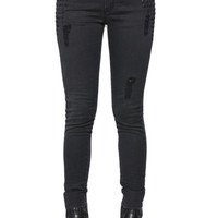Etienne Marcel Studded Distressed Jeans