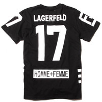 Karl Lagerfeld 17 T-shirt (4 colors available)