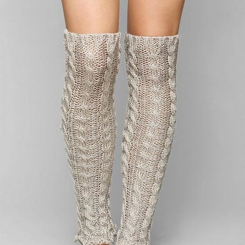 Dancer Cableknit Leg Warmer - Urban Outfitters