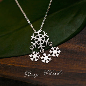 Shiny Gift New Arrival Jewelry 925 Silver Stylish Simple Design Christmas Lock Pendant Necklace [8080528775]