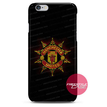 Logo Manchester United The Red Devils iPhone Case 3, 4, 5, 6 Cover