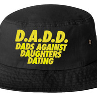 dads against daugters dating yellow bucket hat