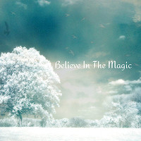 Nature Photography, Dreamy Fairytale Fantasy Nature, Aqua Teal Turquoise Trees, Inspirational Believe In The Magic, Baby Child Nursery Photo