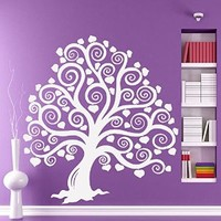 Tree Wall Decals Decal Vinyl Stickers Nursery Bedroom Window Door Room Home Decor Art Murals Ah162