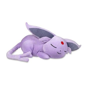 Sleeping Espeon Poké Plush - 14 In.