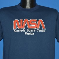 80s NASA Kennedy Space Center Florida t-shirt Medium