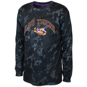 LSU Tigers Youth Black Ops Camo Long Sleeve T-Shirt – - http://www.shareasale.com/m-pr.cfm?merchantID=7124&userID=1042934&productID=554815873 / LSU Tigers