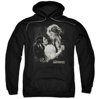 LABYRINTH/DREAM DANCE-ADULT PULL-OVER HOODIE-BLACK