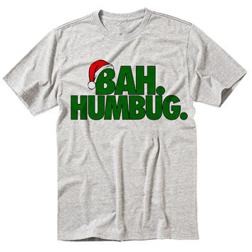 BAH HUMBUG shirt. Christmas shirt . Grinch shirt . Holiday shirt . Funny shirt . Happy Holidays . Christmas