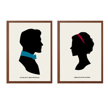 DOCTOR WHO | Smaller On The Outside Poster : Modern Illustration TV Series Retro Art Wall Decor
