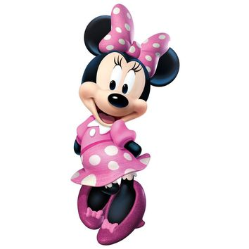 Disney Minnie Mouse Bow-Tique Wall Accent Decal