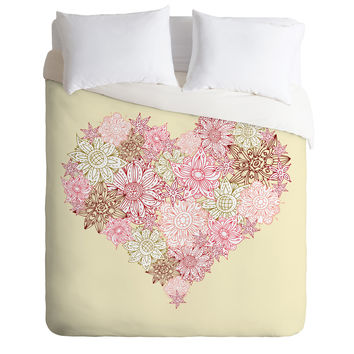 Sabine Reinhart Heart One Duvet Cover