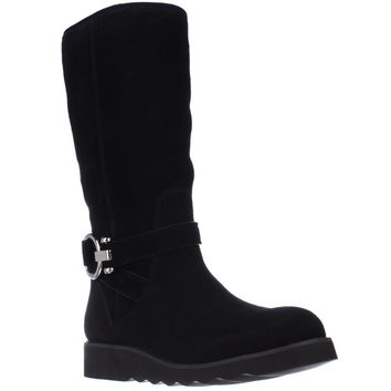 Coach Virtue Flat Winter Boots - Black