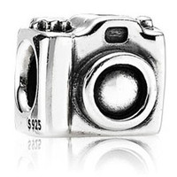 Pandora Camera Charm for all European Charm Bracelets- Authentic Sterling Charms