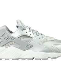 Nike Women's Air Huarache Run SE Metallic Silver