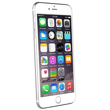 Apple iPhone 6 64GB - White-Silver  - AT&T - B