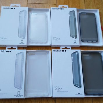 Tech21 Impact Clear Slim Protective Case For iPhone 5/5S/SE, 6, 6+ 1.5MDropProof