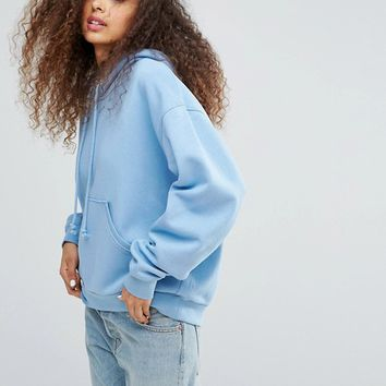 Weekday Oversize Hoodie with Elongated Arms at asos.com