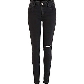Black ripped Amelie superskinny jeans - skinny jeans - jeans - women