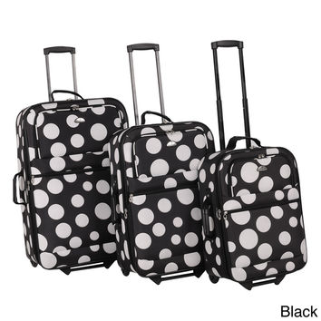 American Flyer Tokyo Collection Lightweight Explandable 3-piece Luggage Set | Overstock.com Shopping - The Best Deals on Three-piece Sets