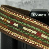 dSLR Camera Strap, Southwestern, Tribal, SLR, 204 w
