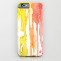 Rainbow Watercolor iPhone & iPod Case by Olechka