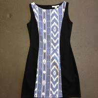 Ikat Mod Dress from Odd Bird Collective