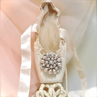 The Sun King A Royal Blush Ballet Pointe Shoe Altered by TutusChic