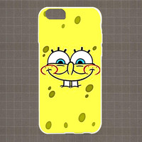 Spongebob Squarepants Faces Part1 06 iPhone 4/4S, 5/5S, 5C Series Hard Plastic Case