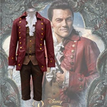 Cosplay Gaston Costumes Anime Party Halloween Carnival Costume