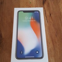iPhone X - 256GB - Silver Factory Unlocked Sealed