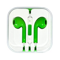 BEST SHOPPER - IPHONE 5 EAR BUDS - GREEN