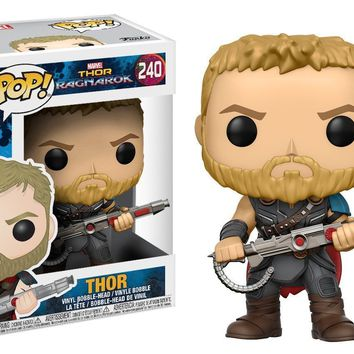 Funko Pop! Marvel: Thor Ragnarok Thor Gladiator Suit 240 13763